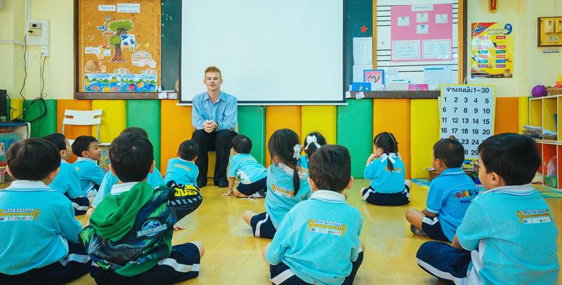 ครูฝรั่ง เจ้อของภาษา